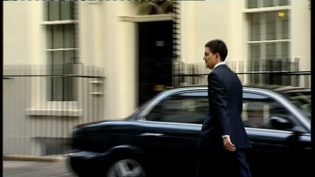 Cabinet meeting arrivals pre Chancellor's prebudget report Departures Alan Johnson Yvette Cooper David Miliband Jack Straw Ed Balls Shaun Woodward...
