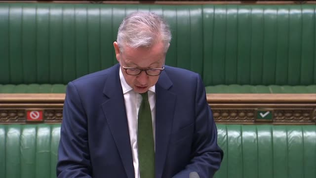 cabinet office minister michael gove makes a statement to the commons, laying out the government's post-brexit plan for mps. mr gove said it will... - kansas stock videos & royalty-free footage