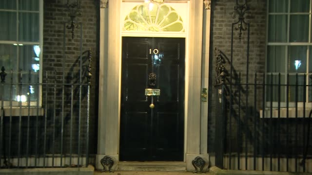 Downing Street arrivals and departures ***BEWARE Gavin Williamson MP along into No 10 / Jeremy Hunt departs / Greg Clark departs / David Gauke MP...
