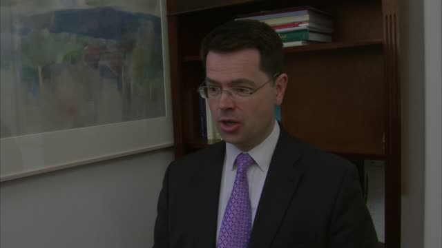 London James Brokenshire MP interview SOT I have a small lesion in my right lung that will require surgery to remove / whilst the health team believe...