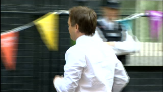 cabinet reshuffle grant shapps arriving at number 10 - grant shapps stock videos and b-roll footage