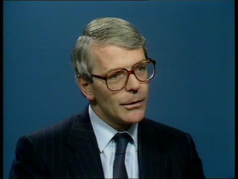john major profile england intvw john major mp - ジョン メイジャー点の映像素材/bロール