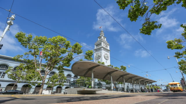 Cable Car und Ferry Building