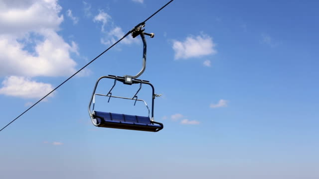 Cable car on the mountain