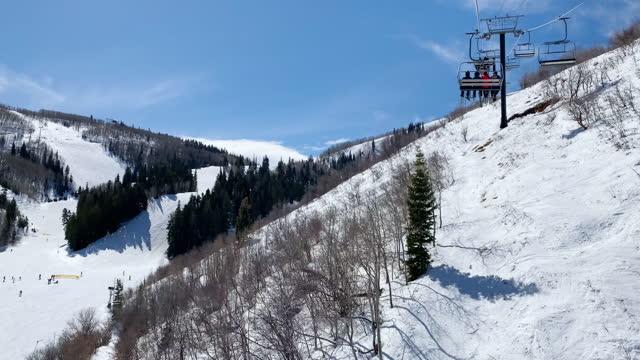cable car park city utah ski resort usa - park city utah stock videos & royalty-free footage