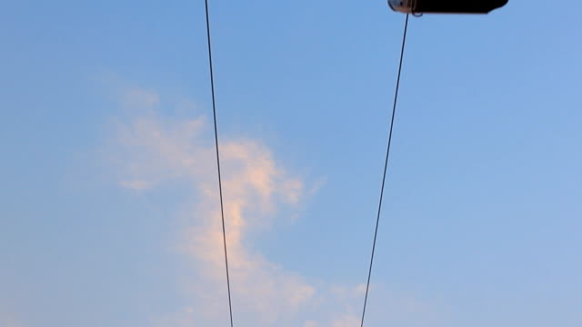 cable car - overhead cable car stock videos and b-roll footage
