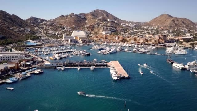 cabo marina - cabo san lucas stock videos and b-roll footage