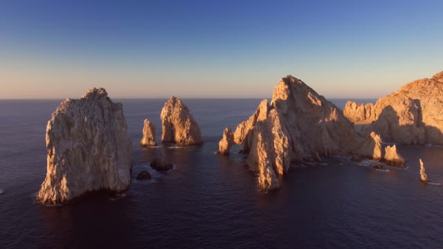 cabo san lucas baja california sur mexico - arch stock videos & royalty-free footage