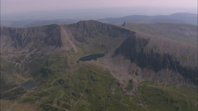 cadair idris - snowdonia stock videos & royalty-free footage