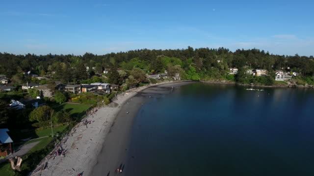 cadboro bay - カナダ ビクトリア市点の映像素材/bロール