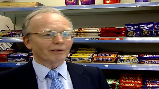 cadbury's chocolate fined for salmonella outbreak; jeremy baker interview sot - salmonella video stock e b–roll