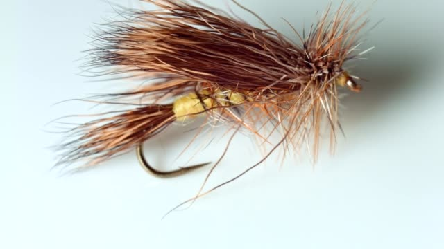 Caddis fly yellow fishing flies craftsmanship hook flies