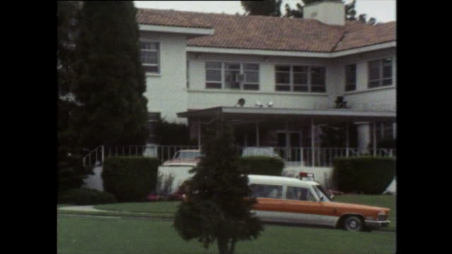 cadillac ambulance leaves fairmont hospital; 1979 - 1970 1979 stock videos & royalty-free footage