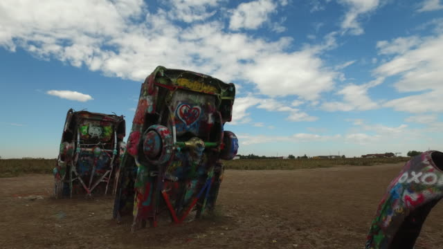 Cadillac Ranch in Amarillo, Texas, USA