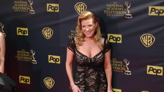 Cady McClain at 42nd Annual Daytime EMMY Awards at Warner Bros Studios on April 26 2015 in Burbank California