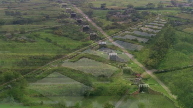 stockvideo's en b-roll-footage met caenhill locks - wiltshire