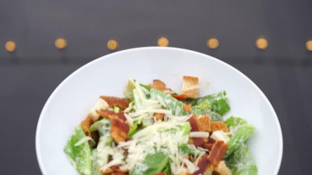 Caesar Salat-gesunde Ernährung