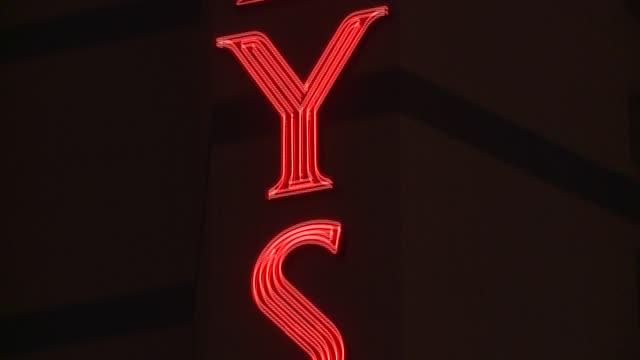 caesar's, bally's, new york new york, harrah's - all at night las vegas strip at night at the strip on january 21, 2013 in las vegas, nevada - bally's las vegas stock videos & royalty-free footage