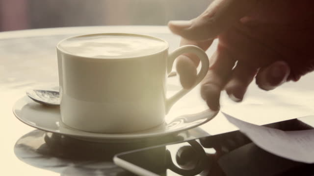 cafe coffee    dr - coffee cup stock videos & royalty-free footage