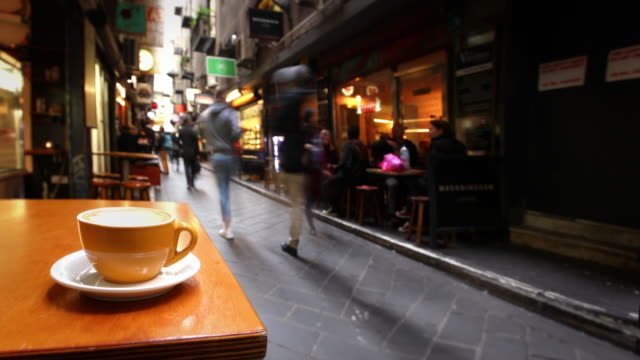 Cafe in Melbourne, Australia