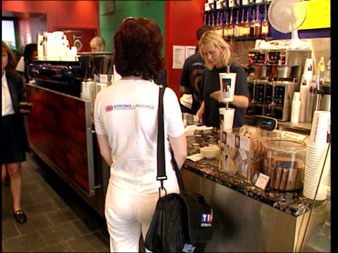 caffeine risk to pregnant women itn london woman wiating to be served - caffeine stock videos & royalty-free footage