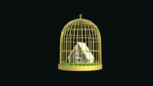 cage house - sado maso stock-videos und b-roll-filmmaterial