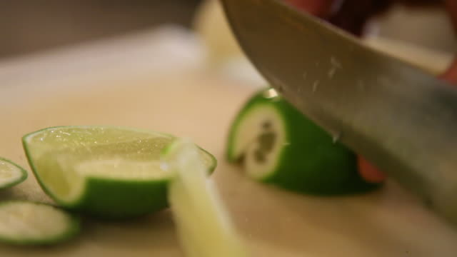 ms caipirinha preparation / sao paulo, brazil - citrus fruit stock videos and b-roll footage