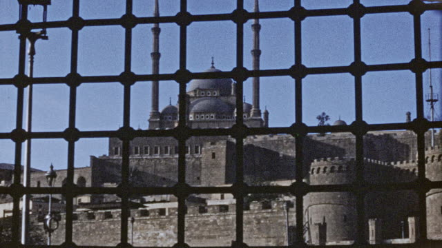 cairo - great mosque of muhammad ali pasha 1946 - 1946 stock videos & royalty-free footage