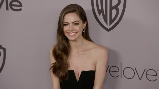 Caitlin Carver at the Warner Bros Pictures and InStyle Host 19th Annual PostGolden Globes Party at The Beverly Hilton Hotel on January 7 2018 in...