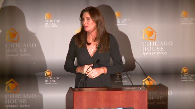 WGN Caitlyn Jenner Speaking At the annual luncheon of Chicago House an organization that helps the LQBT community and those living with HIV/AIDs on...