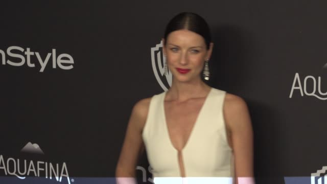 Caitriona Balfe at 17th Annual InStyle And Warner Bros Pictures Golden Globe AfterParty at The Beverly Hilton Hotel on January 10 2016 in Beverly...