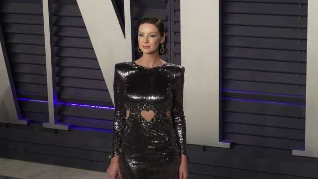 Caitriona Balfe at 2019 Vanity Fair Oscar Party Hosted By Radhika Jones at Wallis Annenberg Center for the Performing Arts on February 24 2019 in...