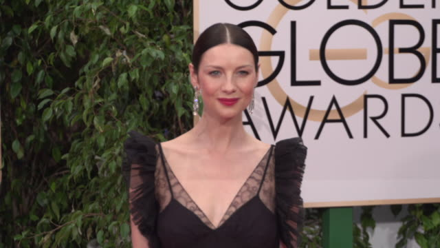 Caitriona Balfe at 73rd Annual Golden Globe Awards Arrivals at The Beverly Hilton Hotel on January 10 2016 in Beverly Hills California 4K