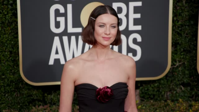 Caitriona Balfe at 76th Annual Golden Globe Awards Arrivals in Los Angeles CA 1/6/19 4K Footage