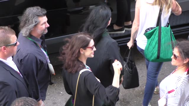 Caitriona Balfe at ComicCon Celebrity Sightings on July 11 2015 in San Diego California