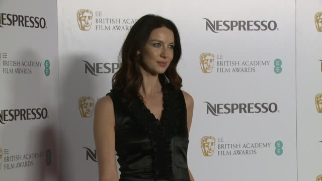 Caitriona Balfe at Kensington Palace on February 11 2017 in London England