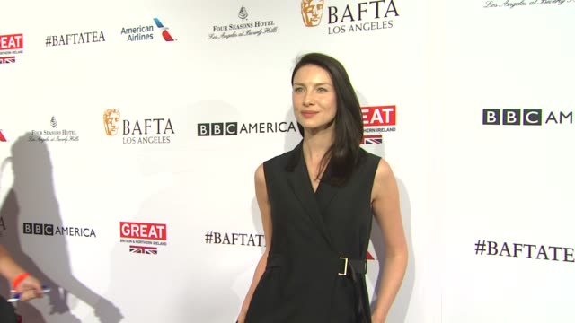 Caitriona Balfe at the BAFTA Los Angeles Awards Season Tea Party at Four Seasons Hotel Los Angeles at Beverly Hills on January 09 2016 in Los Angeles...