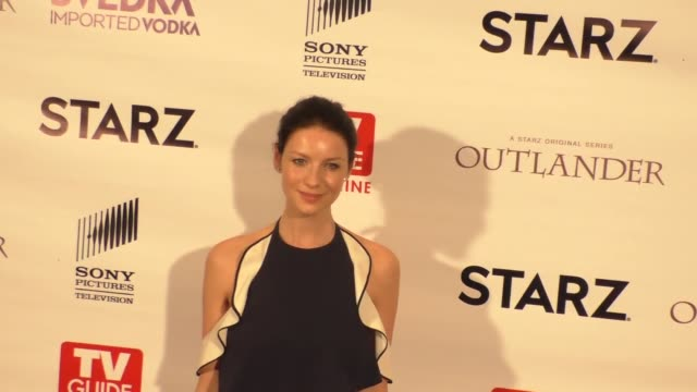 Caitriona Balfe at the TV Guide Magazine Celebrates STARZ's Outlander at Pailhouse in West Hollywood in Celebrity Sightings in Los Angeles