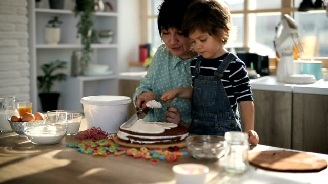 cake decoration - one parent stock videos & royalty-free footage