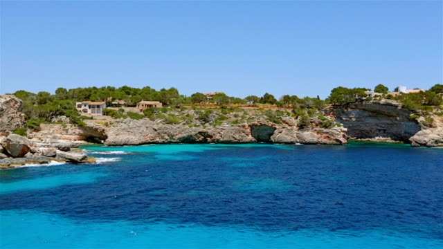Caló d´Es Moro (Cala de Sa Comuna) on east coast on Spanish Balearic island of Majorca / Spain