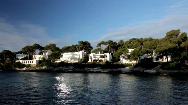 Cala d'Or villas at sunrise