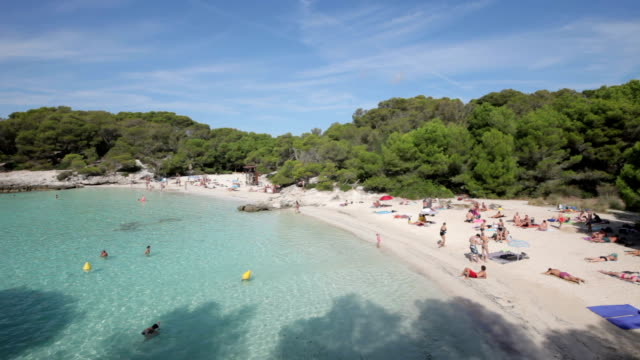 cala en turqueta - balearic islands stock videos and b-roll footage
