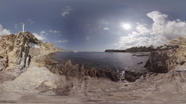 cala es xarcu in ibiza - balearic islands stock videos and b-roll footage