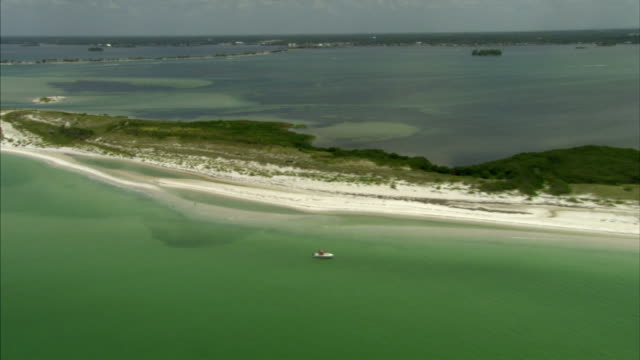 XWS Caladesi Island State Park barrier island north end WS Honeymoon Island State Park Gulf of Mexico white sand beach