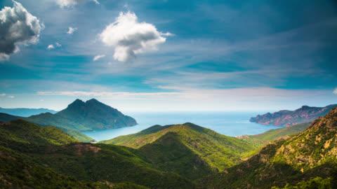vidéos et rushes de temps qui passe: calanche corse - landscape scenery