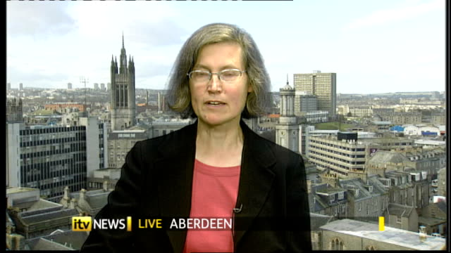 Calcium supplements linked to heart attacks SCOTLAND Aberdeen INT Dr Alison Avenell LIVE 2WAY Interview ex Aberdeen SOT Findings of study