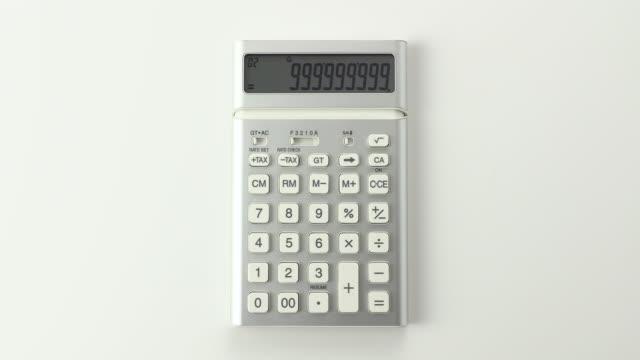 vídeos y material grabado en eventos de stock de calculator - número 9