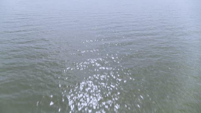 caldera lake scenery of lake chala, tanzania, east africa - loch stock videos & royalty-free footage