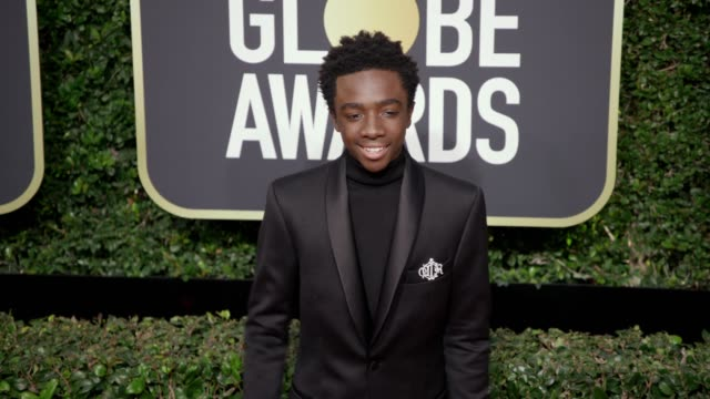 Caleb McLaughlin at the 75th Annual Golden Globe Awards at The Beverly Hilton Hotel on January 07 2018 in Beverly Hills California