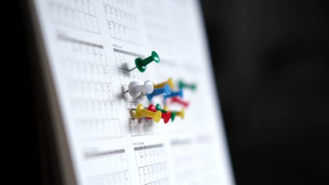 vídeos y material grabado en eventos de stock de cita de calendario - organizador personal